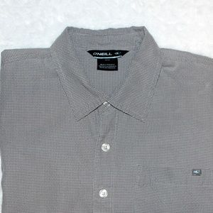 O'Neill Short Sleeve Button Down Shirt Size Small